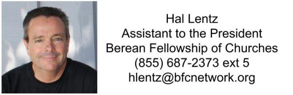 Contact Hal Lentz